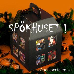 Halloween spökhus Godisportalen