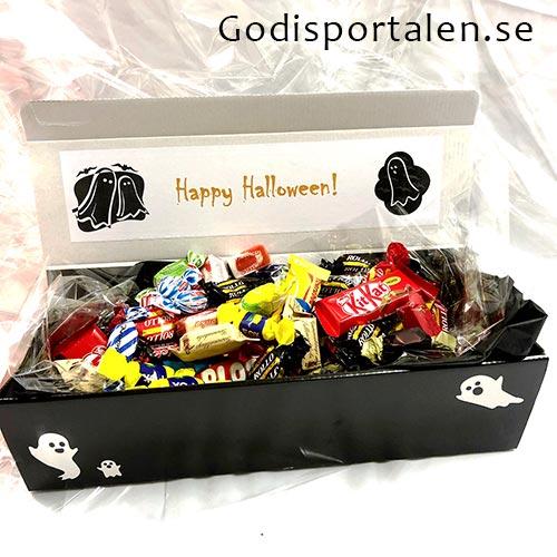Halloweenkista - Skicka Halloweengodis till Företag - Godisportalen.se