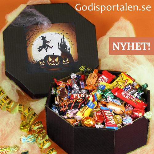 Halloween Godislåda Godisportalen
