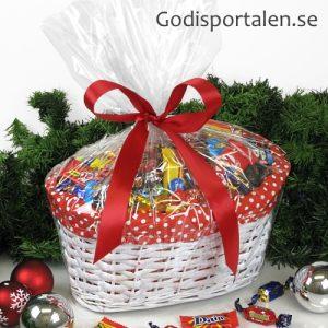 Julkorgar med tyg Godisportalen