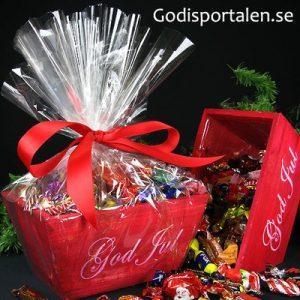 Julkruka röd Godisportalen