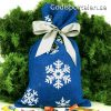 Julsäck snöflinga Godisportalen