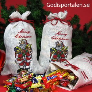 julsäck tomte Godisportalen