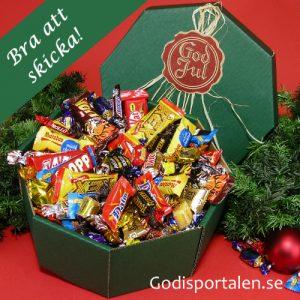 jullåda med godis Godisportalen