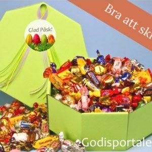 Påsklåda godis påskägg godisportalen