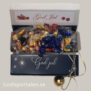 Jullåda stjärna med lyxig godisblandning