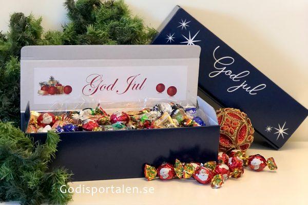 Jullåda Stjärna med lyxigt godis - Godisportalen.se