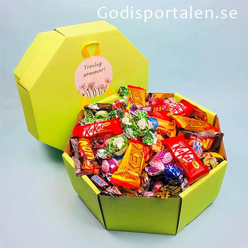 Sommargodis i fin presentlåda - godisportalen.se