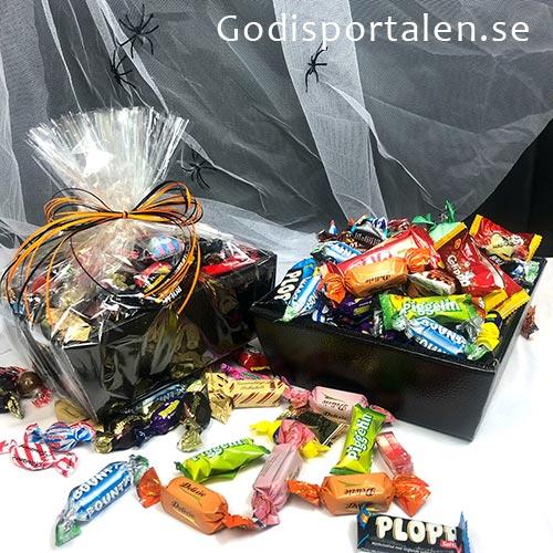 Halloweengodis Företag Kontor - Inslaget i Cellofan - skicka gåva - Godisportalen.se